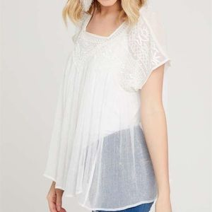 Altar'd State Gloria Beaded Sequin Top